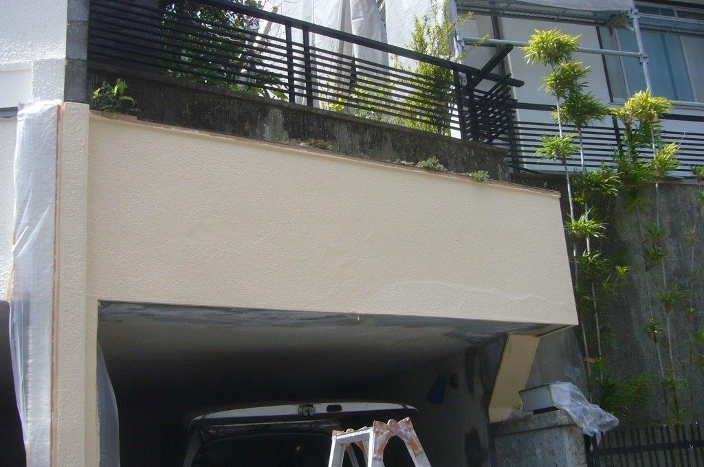 塀 塗装 外構