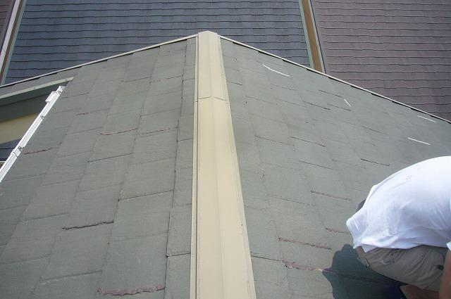 屋根 板金 色褪せ