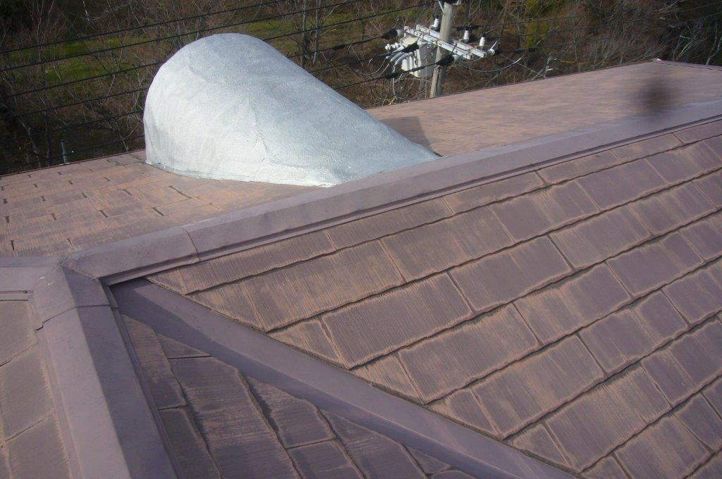 屋根 換気用小屋