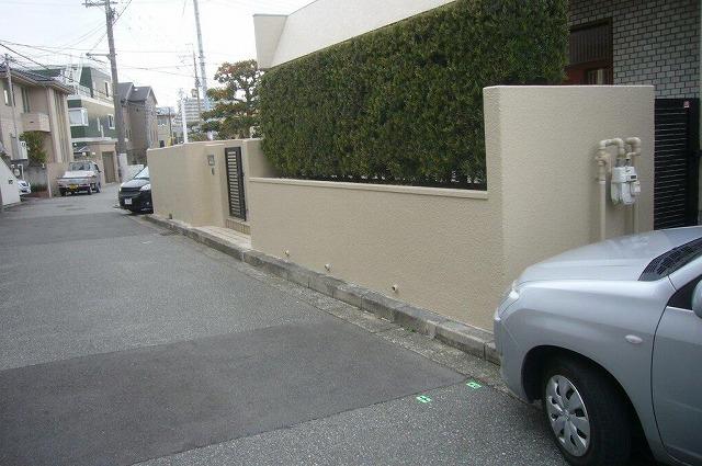 塀補修 終了