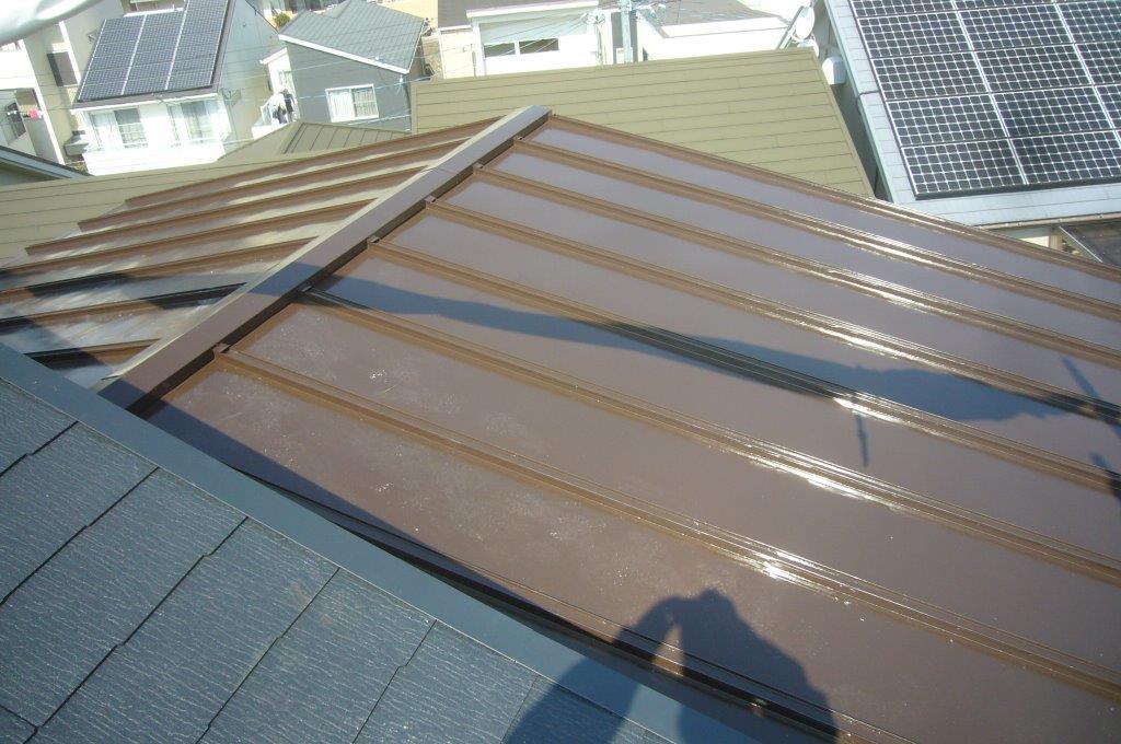 トタン屋根 瓦棒葺き