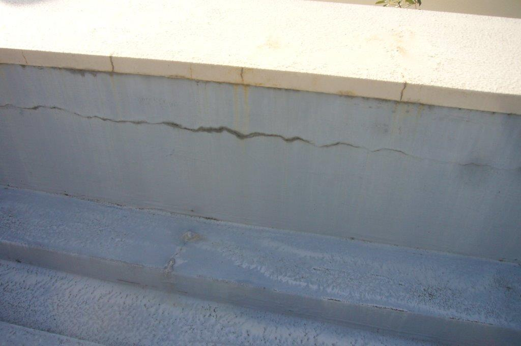 ウレタン防水 劣化 クラック