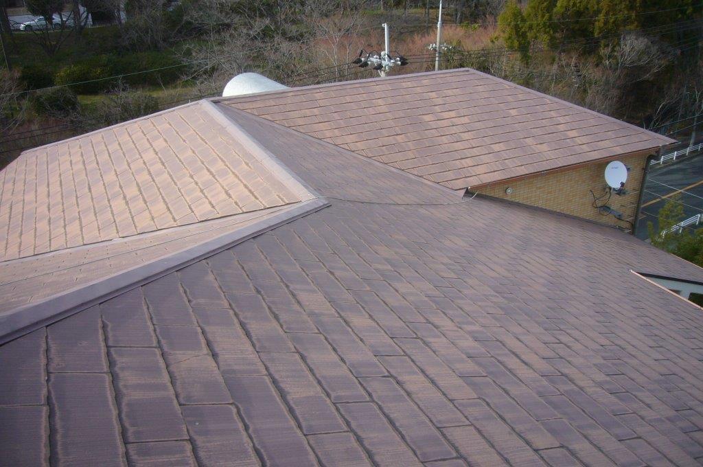 複合屋根 施工前
