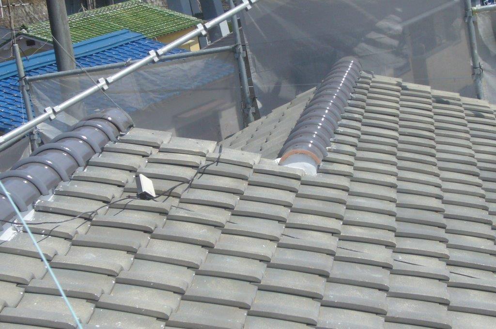 屋根 補修 終了