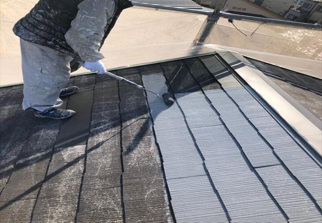 シーラーレス 屋根塗装