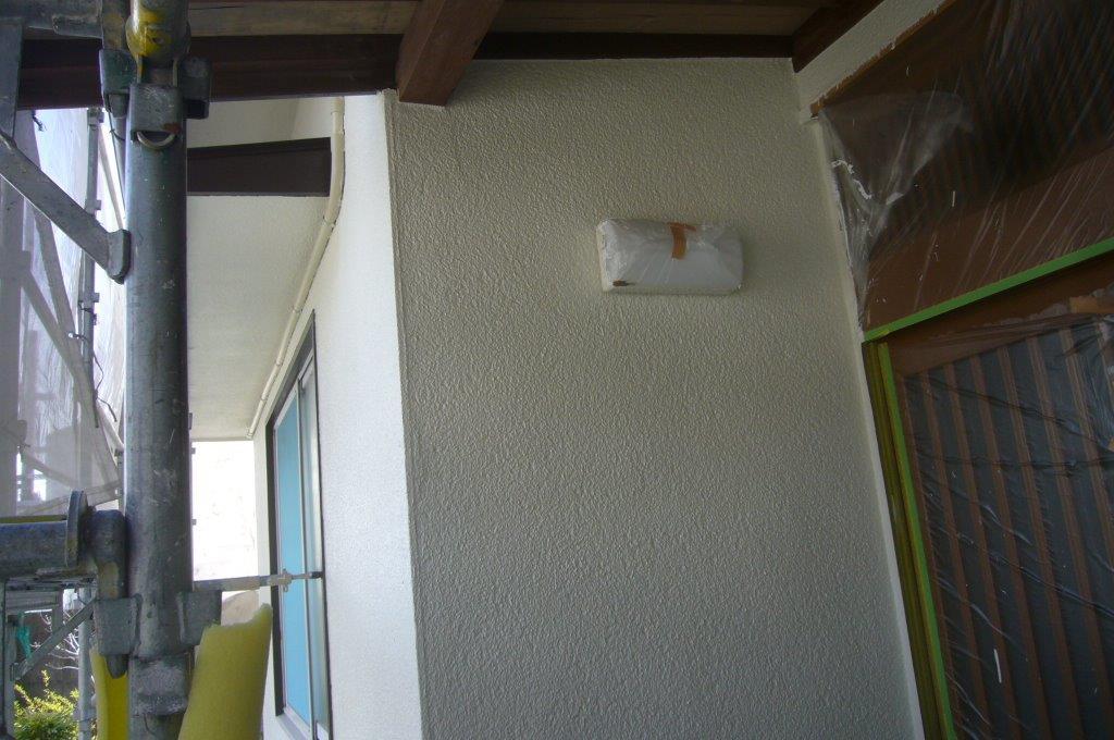 外壁塗装 終了