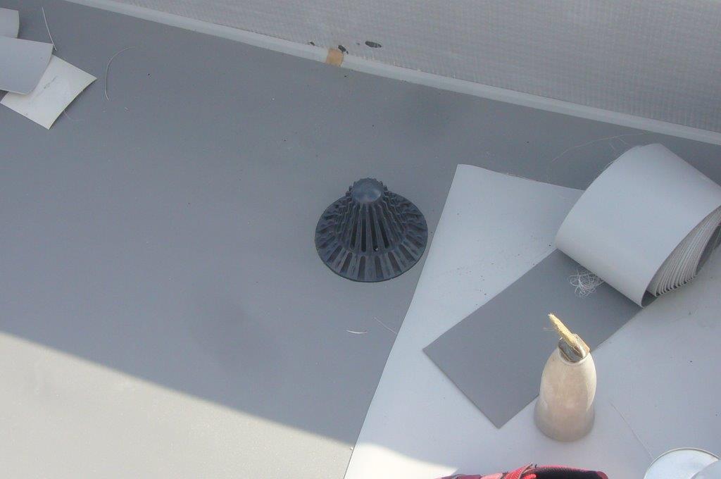 屋上防水 塩ビシート 改修用ドレン