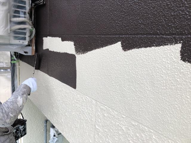 アクセントカラー 外壁塗装
