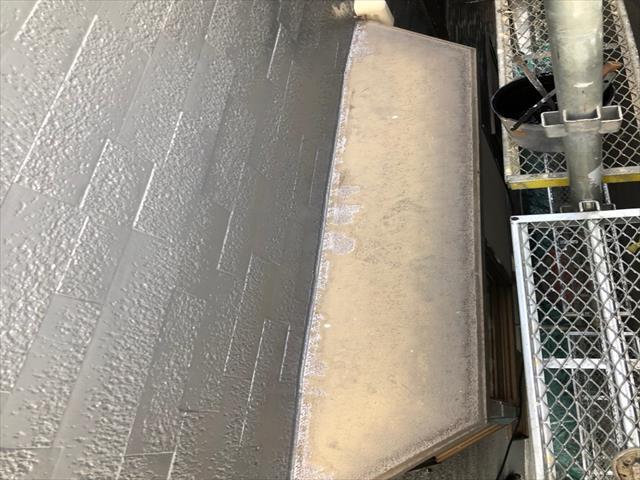 出窓 鉄板 塗装前
