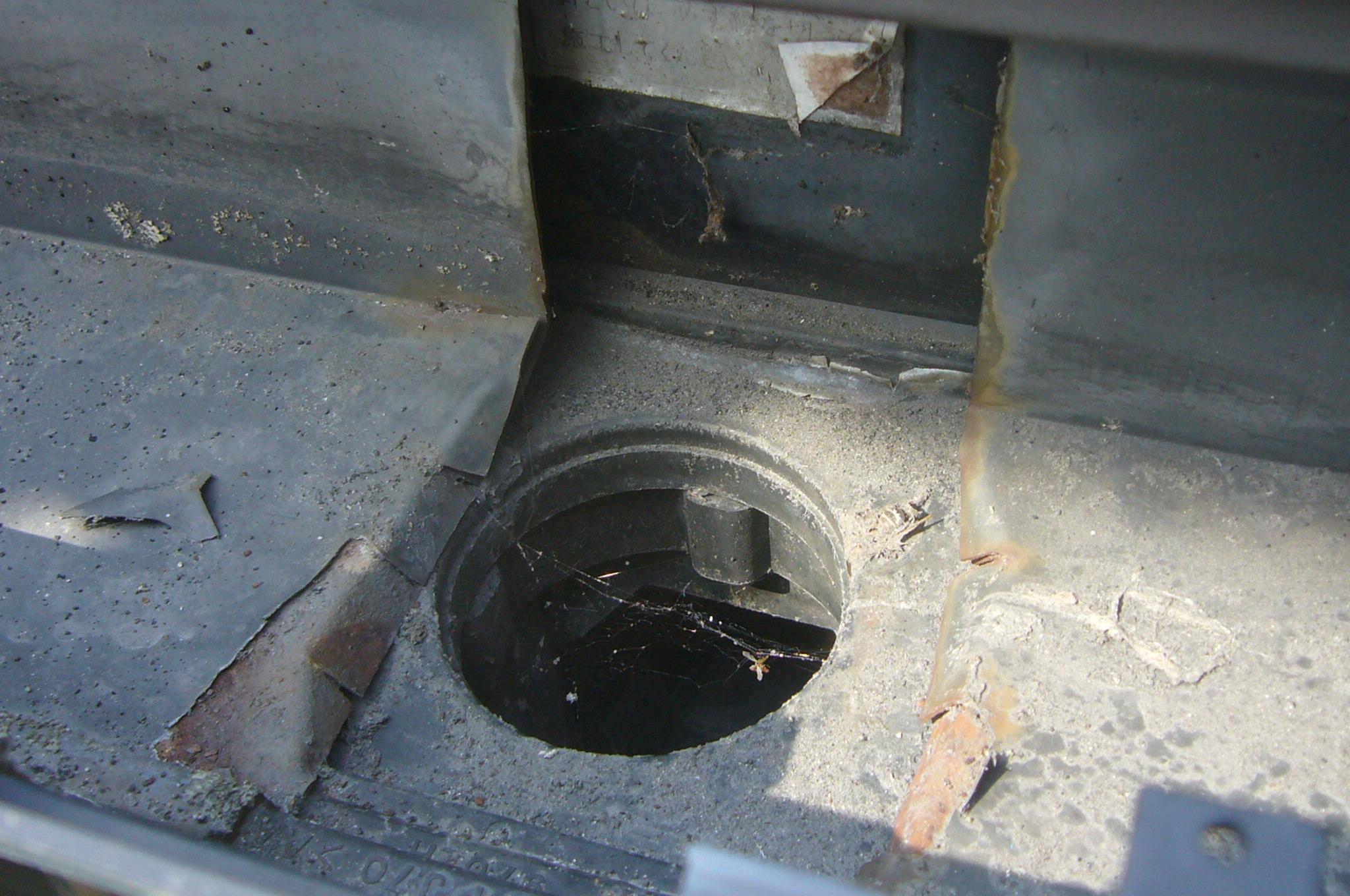 軒樋排水口劣化