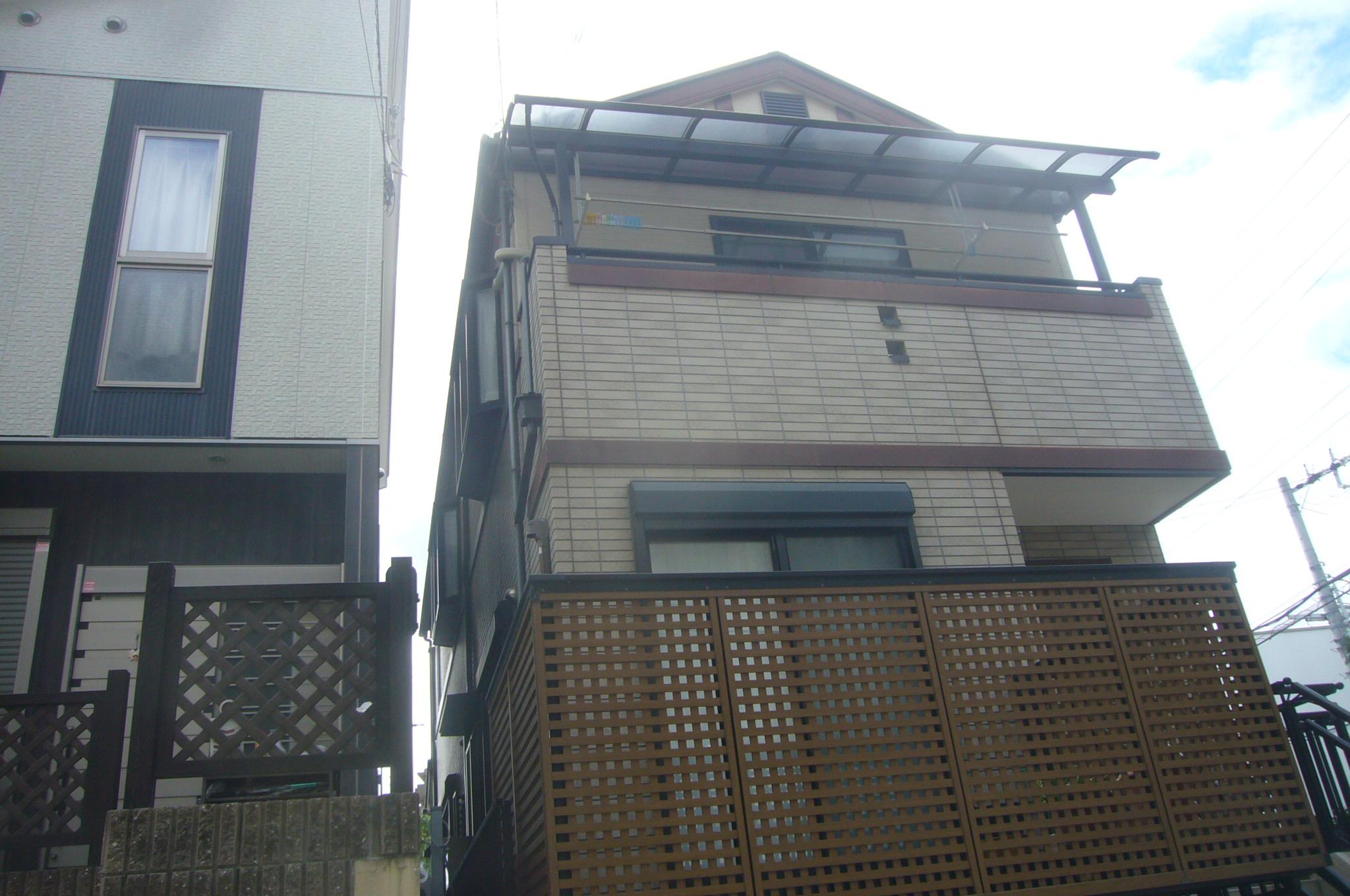 木造サイデイング貼り住宅