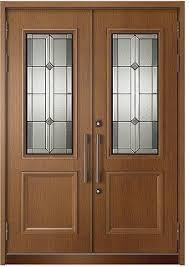 両開き玄関ドア