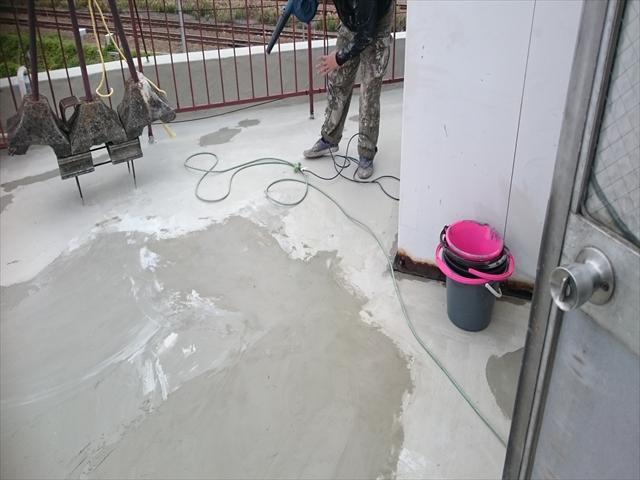 カチオンセメント防水工事