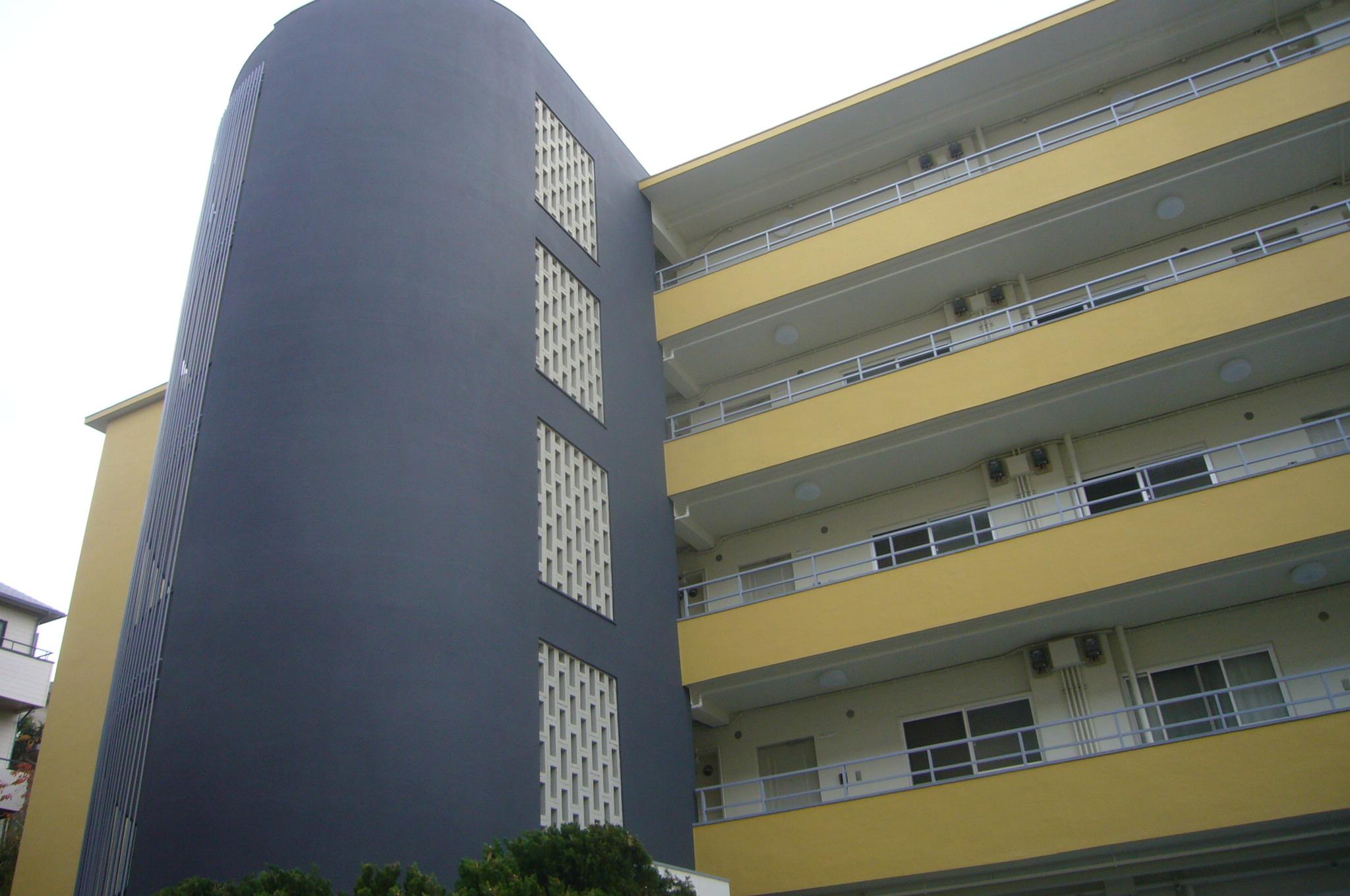 5階建て賃貸マンション施工後