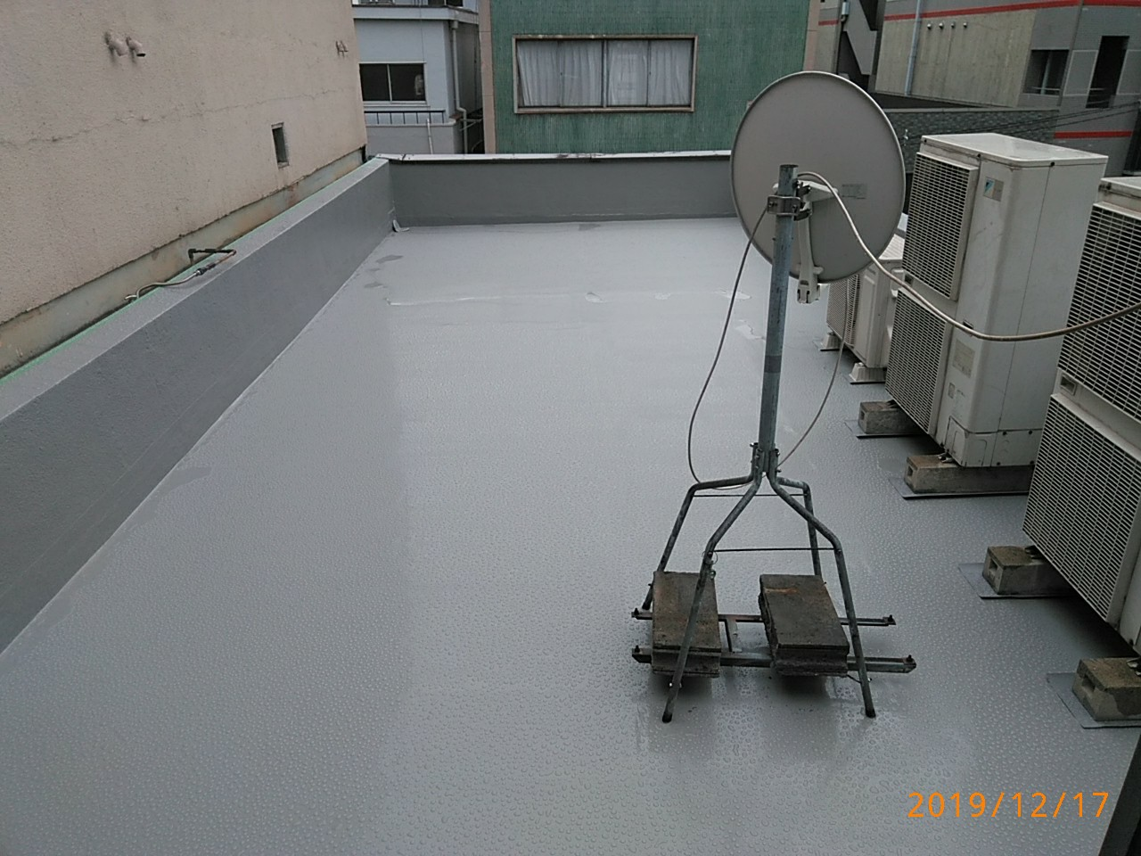屋上防水済