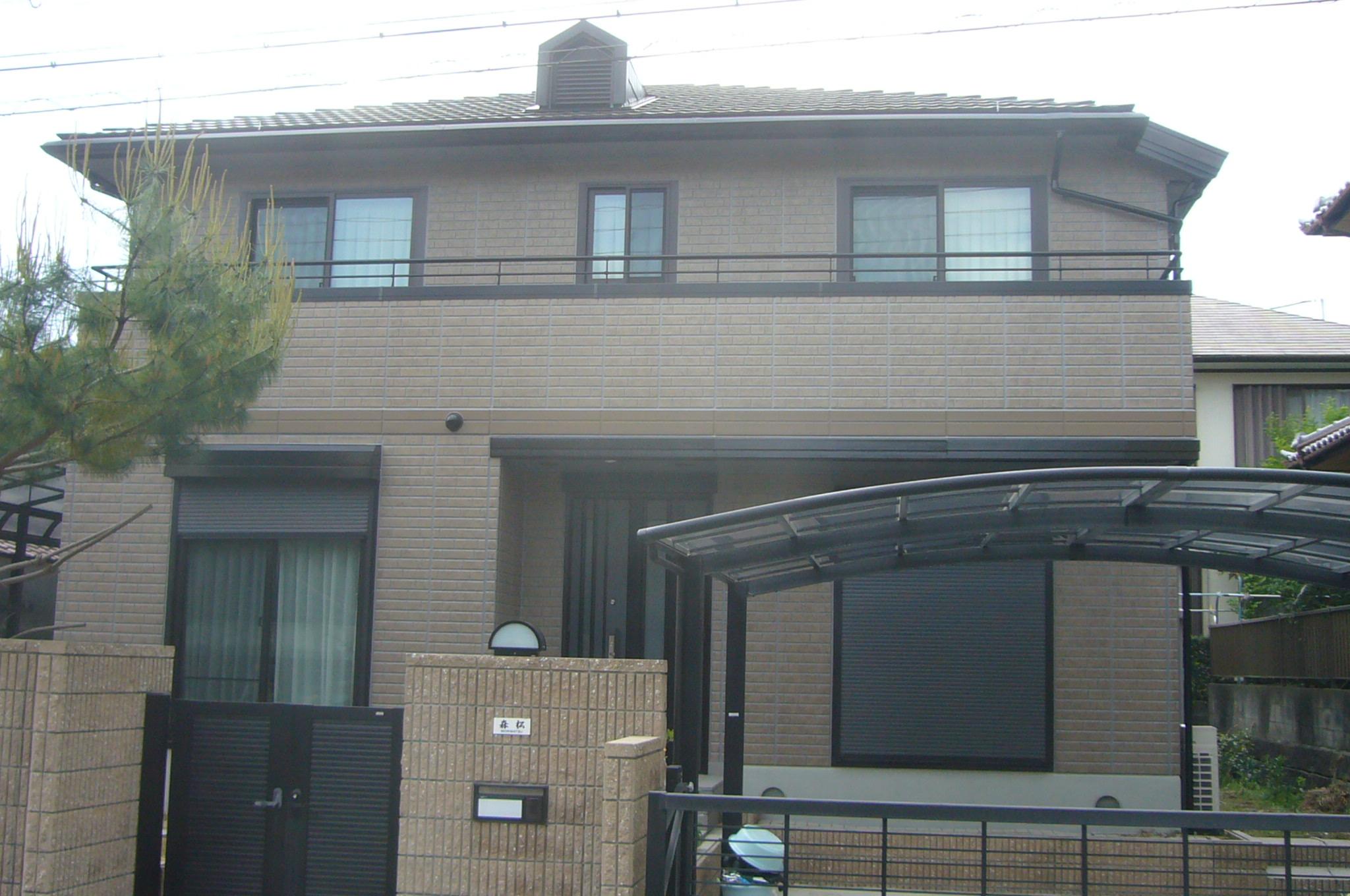 外壁サイデイング貼りの家