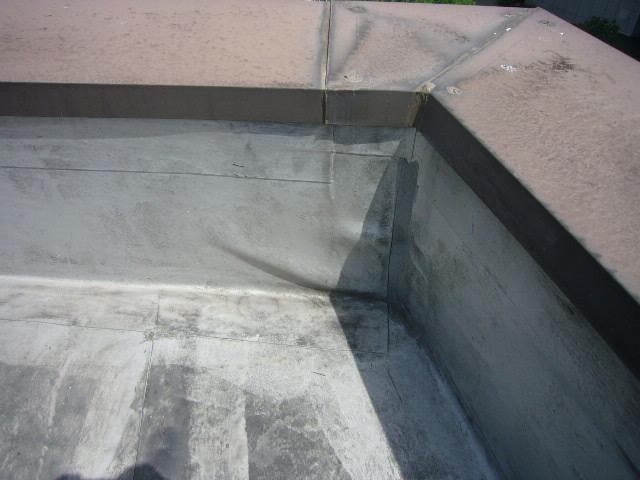 シート防水の膨れ状態