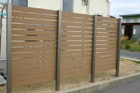 合成木材フェンス