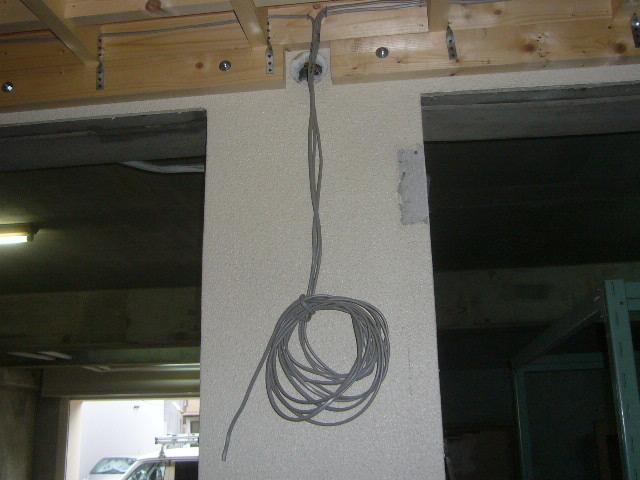 スイッチ用電気配線