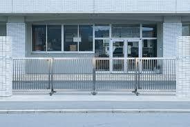 ステンレス製フェンス