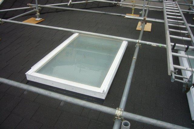 天窓 防水処理