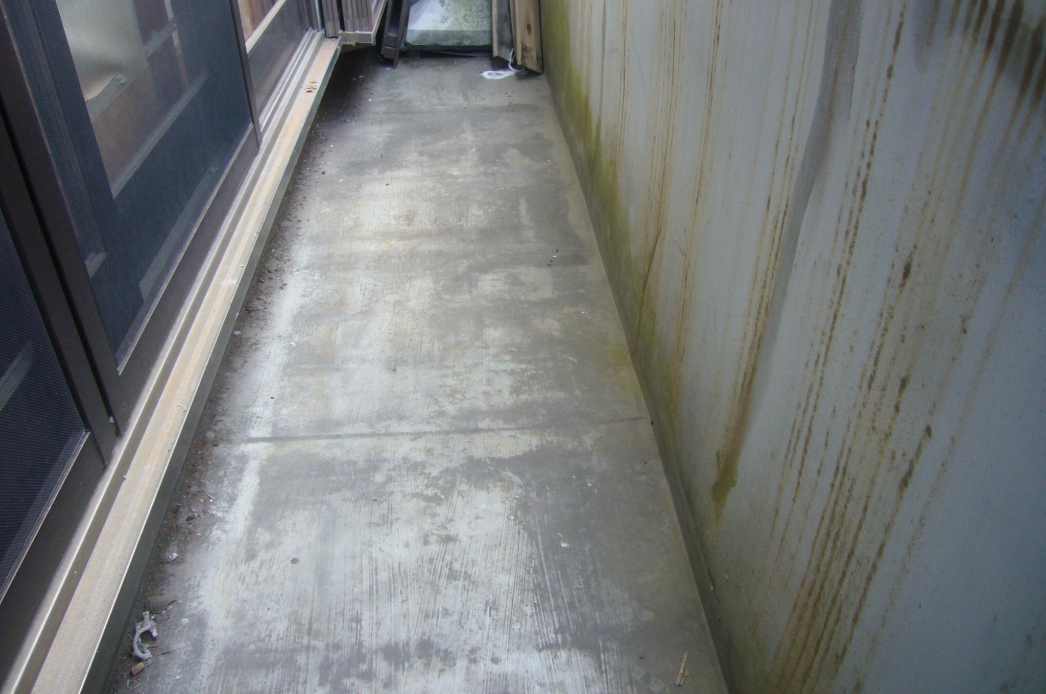 ベランダ床防水状況