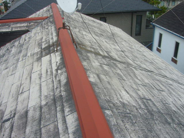 棟鉄板錆止め塗装