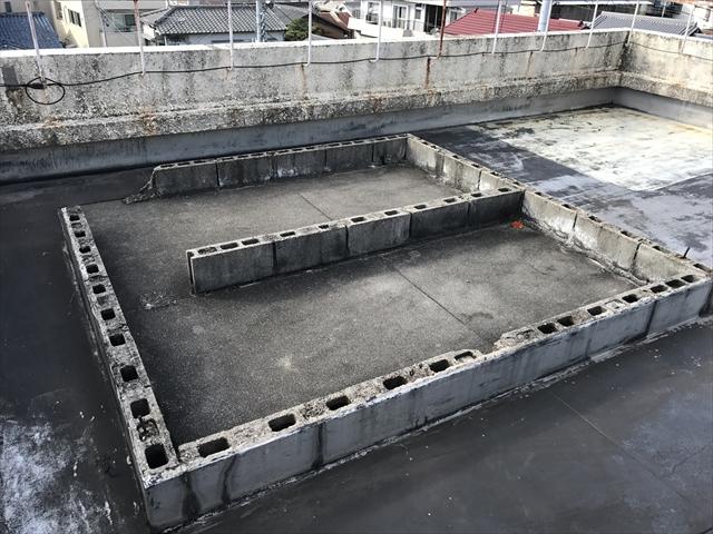 倉庫ブロック跡