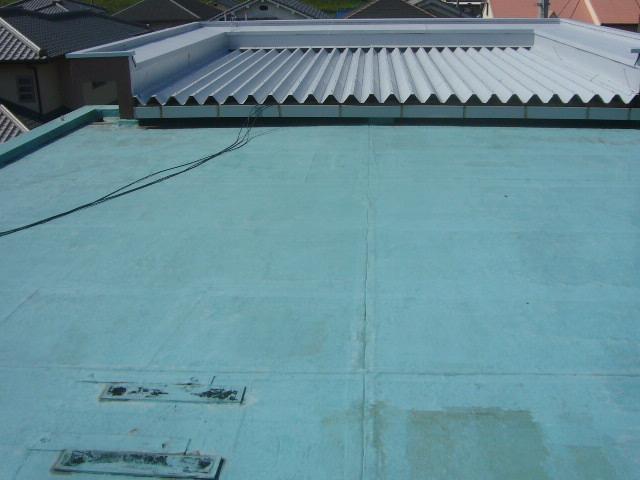 屋上防水増築部分