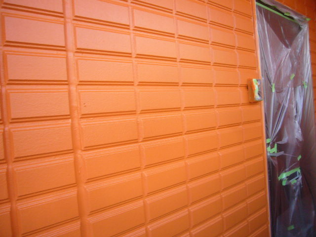オレンジ色完了