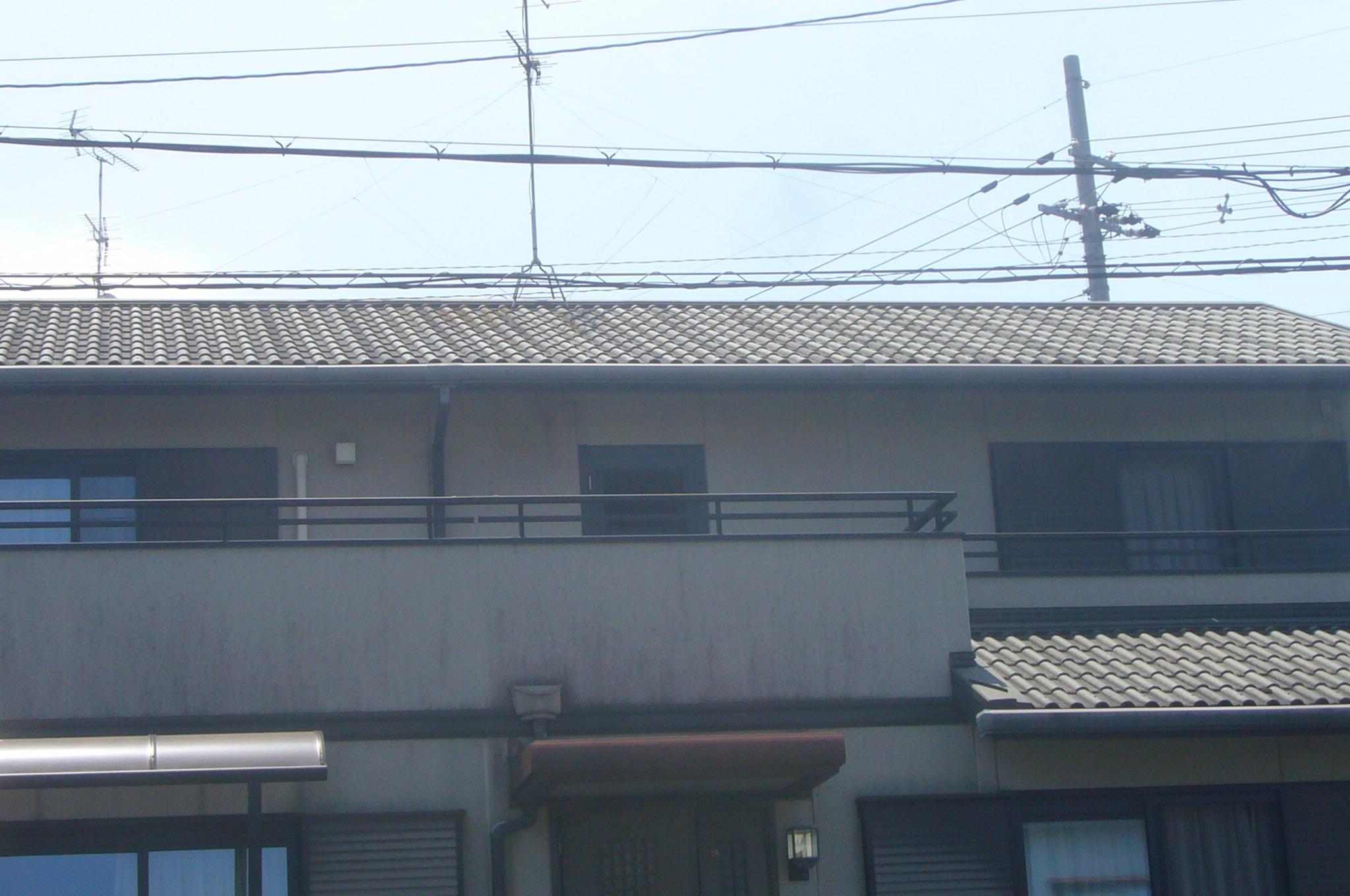 モニエル瓦の大屋根