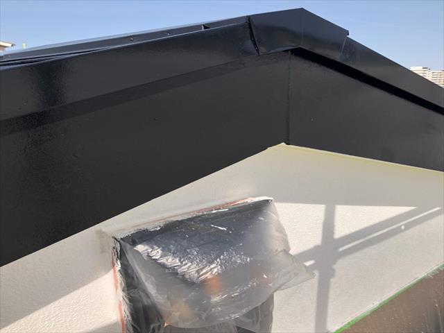 破風板塗装 施工後