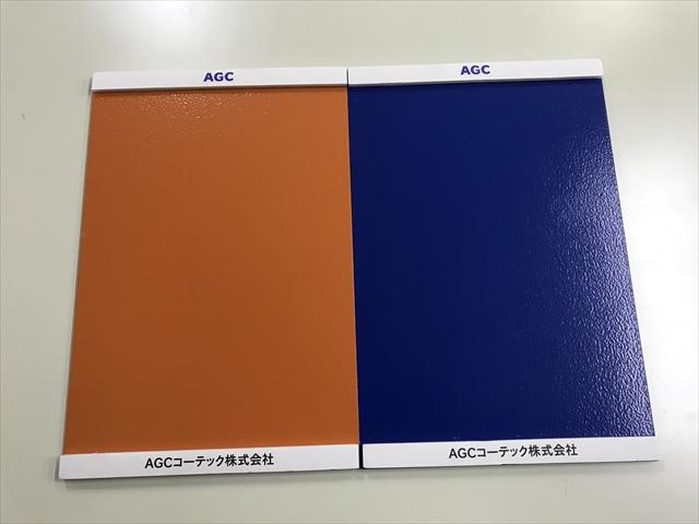 サンプル板塗装