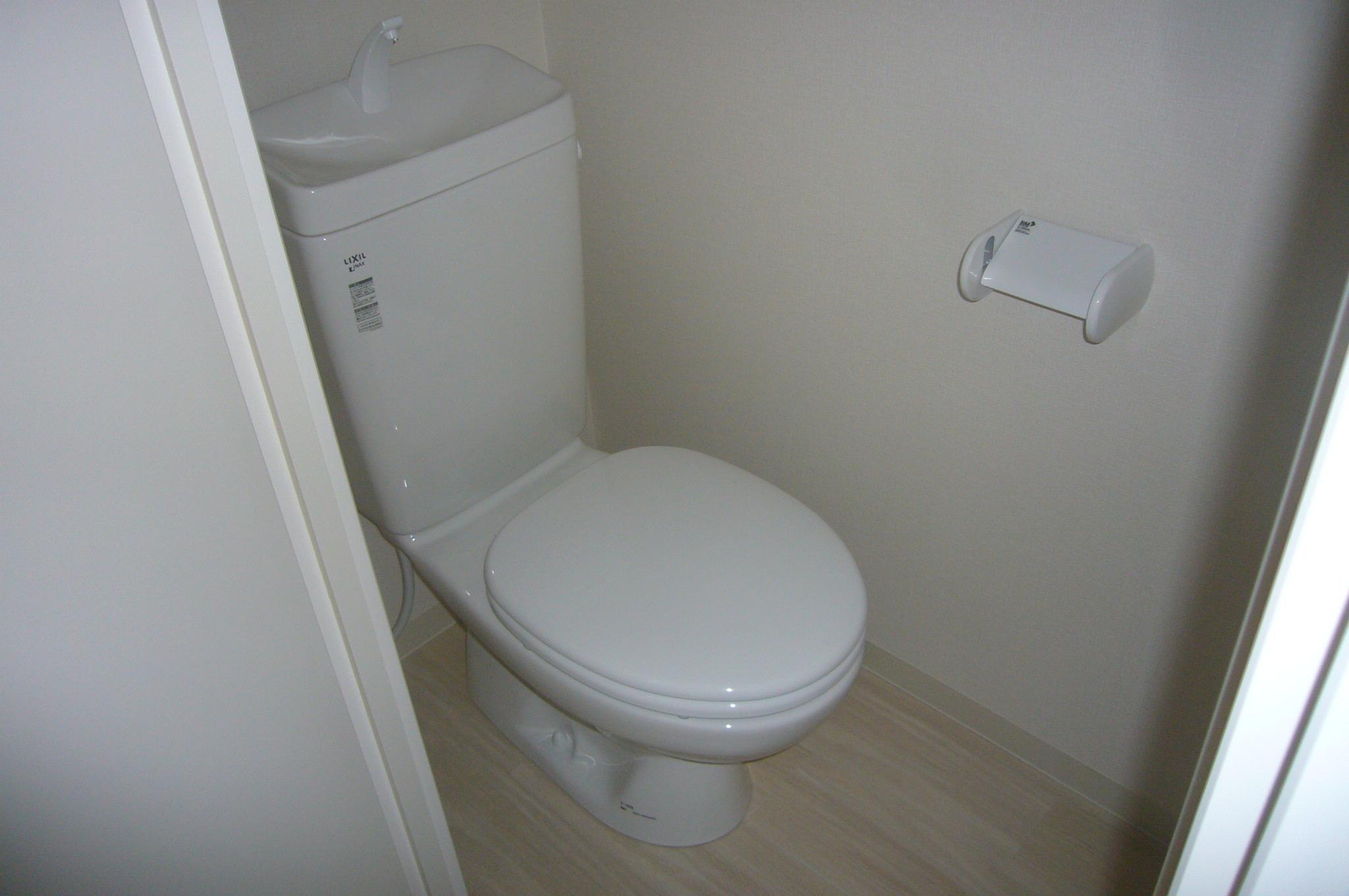 洋式トイレ新設