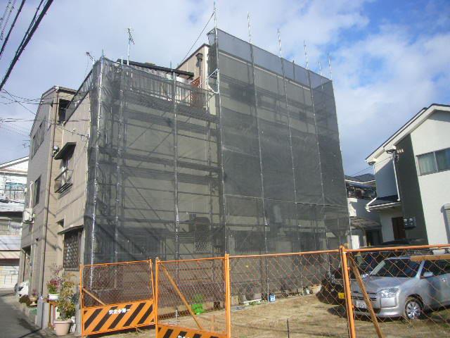 新築工事中