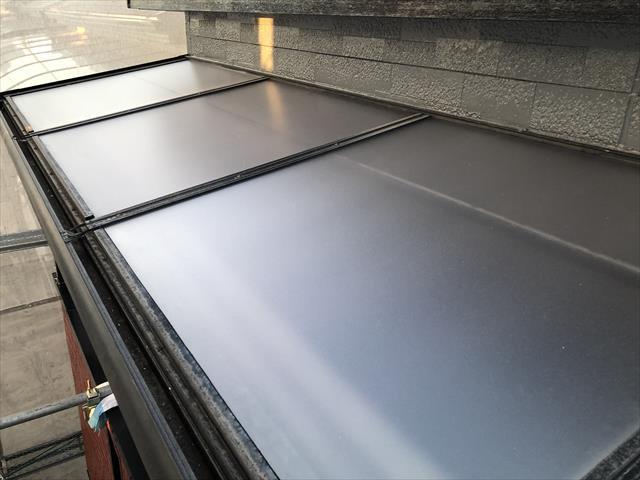 テラス屋根 補修後