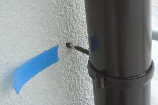 樋 取り付け部分 補修
