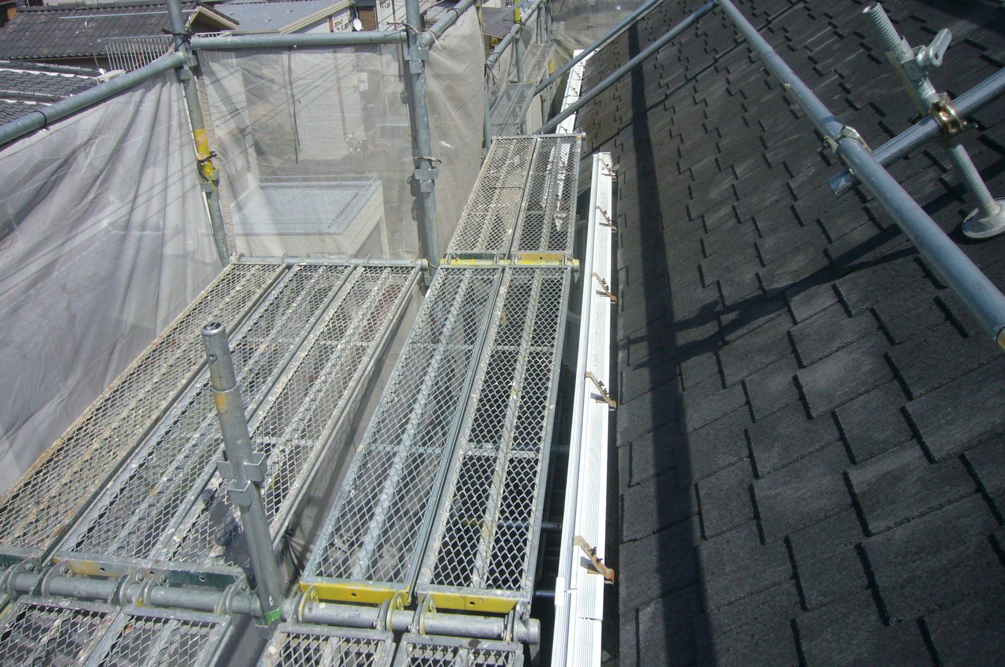 屋根用ステージ