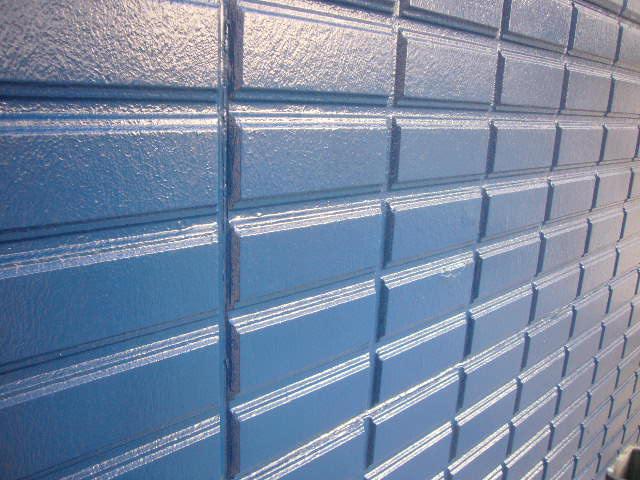 外壁ブルー