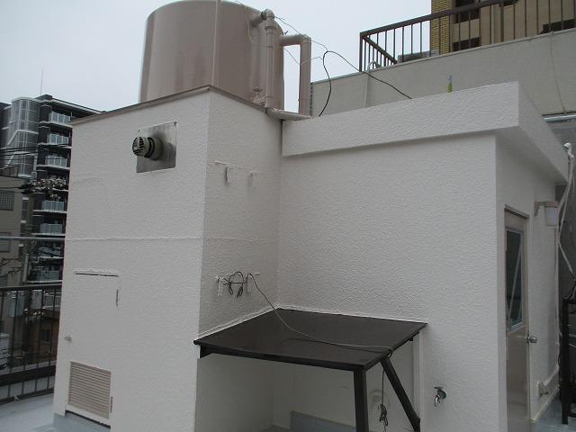 大阪市淀川区で外壁をフッ素塗料で塗り替えた積水ハウス施工住宅