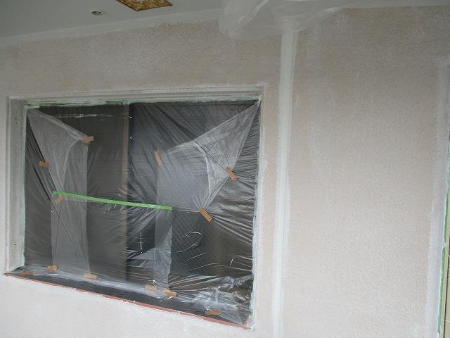 廊下塗装 下塗り 養生