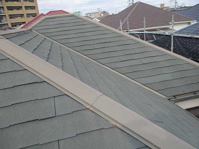大阪市淀川区 屋根塗装 屋根塗替え カラーベスト