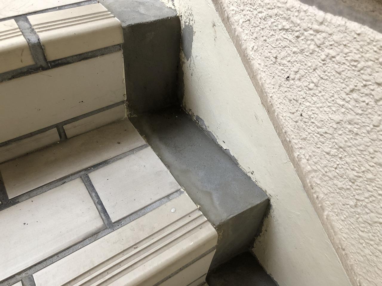 階段 側溝 劣化 補修