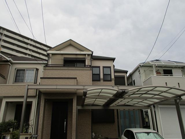 大阪市淀川区 外壁塗装 カーポート