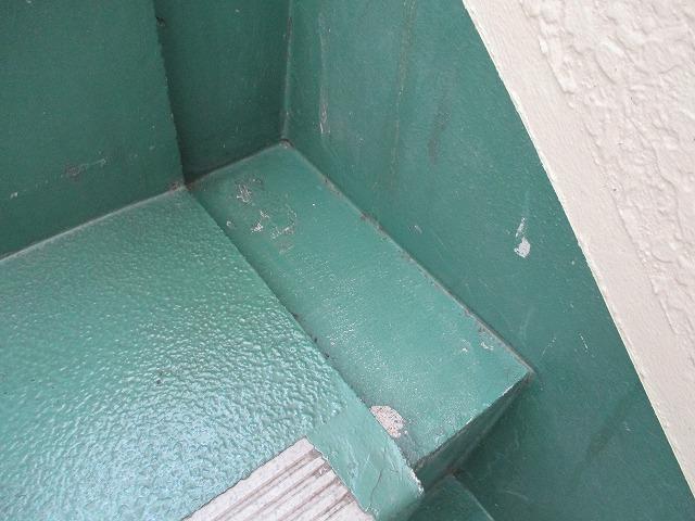 階段 側溝 施工前