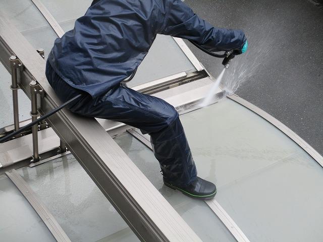大阪市淀川区 外壁塗装 高圧洗浄 カーポート
