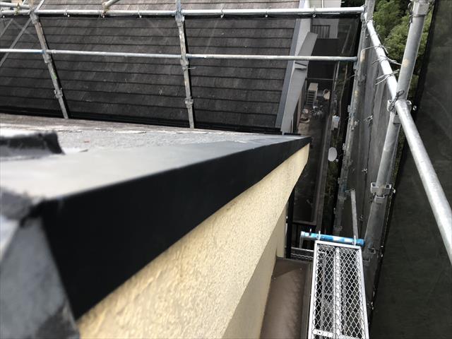 屋根 台風被害 補修工事