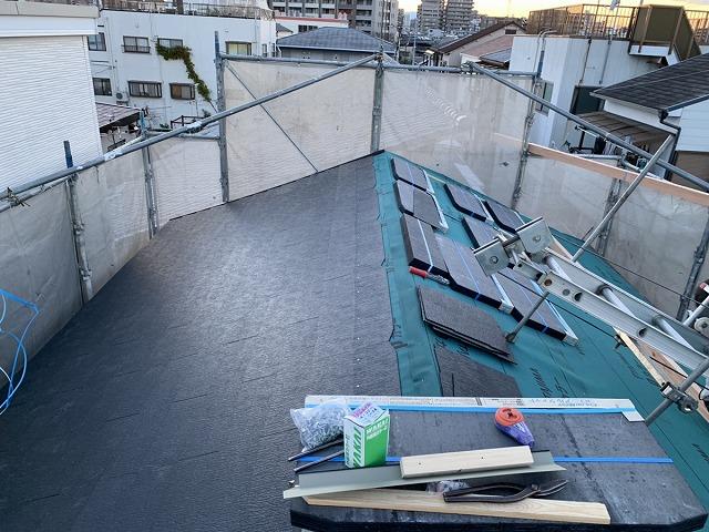 屋根葺き替え カラーベスト