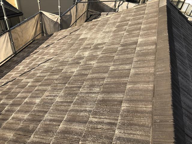 洗浄後 屋根