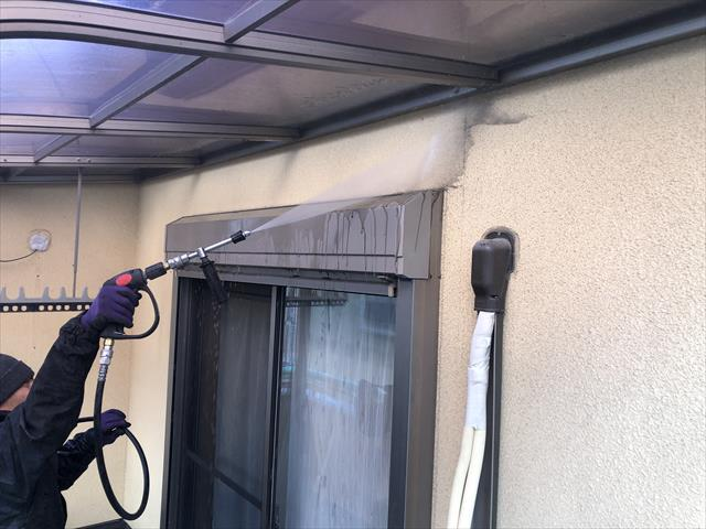 茨木市にて外壁・屋根塗装工事 ②~外壁塗装~